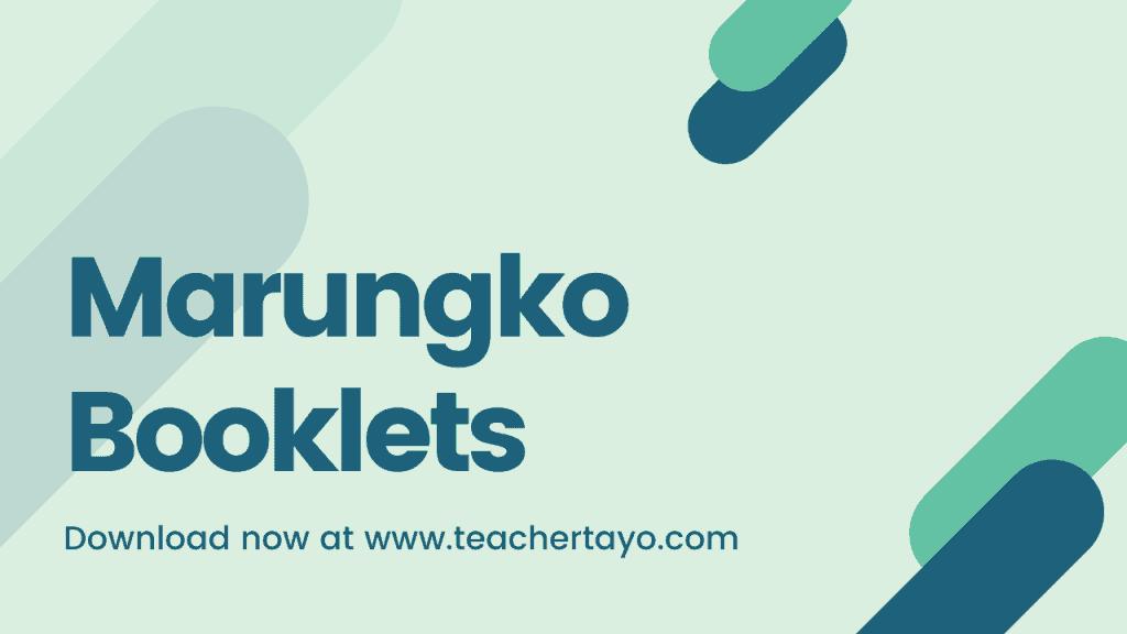marungko booklets