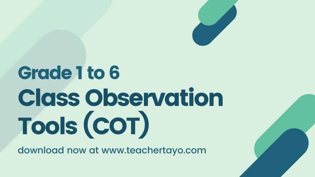 Class Observation Tools