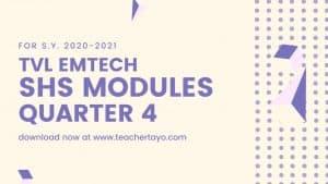 TVL EmTech Senior High School Learning Modules